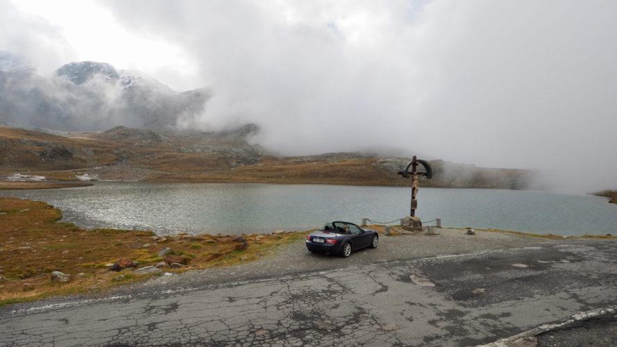 Passo Gavia: krásné sedlo pro motorkáře